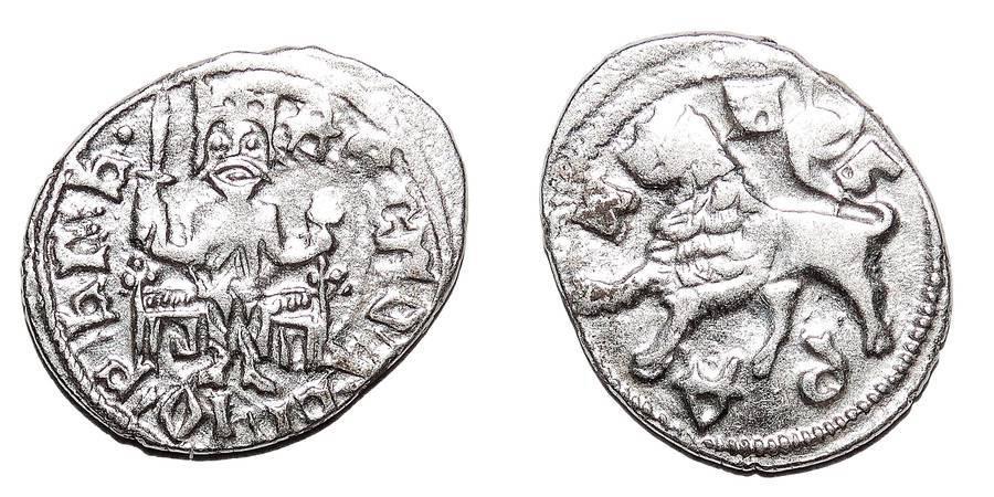 SERBIA (DESPOTATE)~AR Aspra 1427-1456 AD *Novo Brdo*