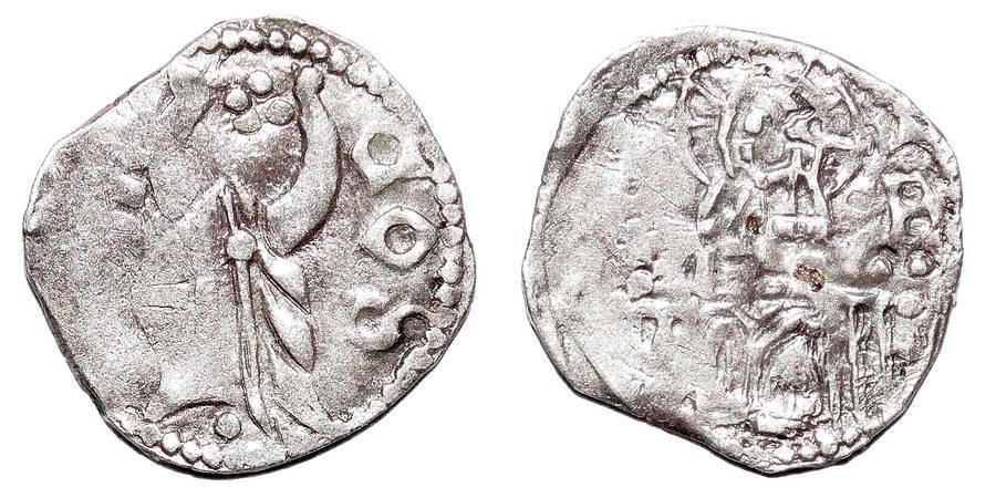 SERBIA ~AR Helm Dinar 1389-1402 AD