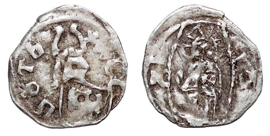 SERBIA (DESPOTATE)~AR Crest Dinar 1402-1427 AD