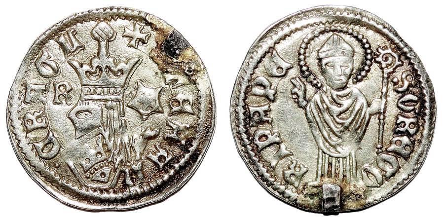 BOSNIA (KINGDOM)~AR Dinar 1461-1463 AD