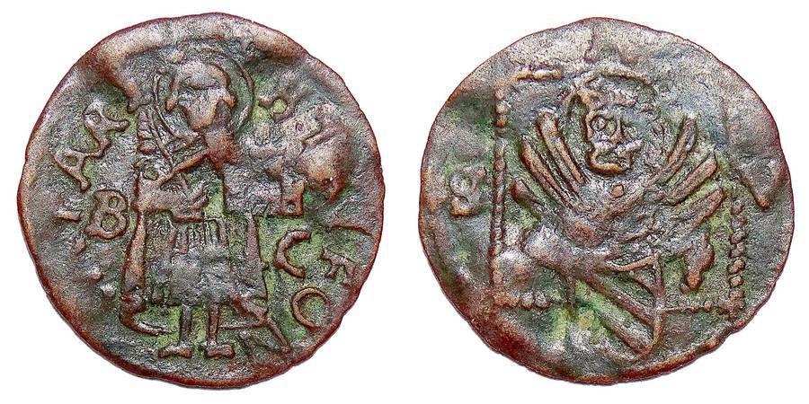 CATTARO/KOTOR (MUNICIPAL)~AE Fallaro 1569-71 AD.