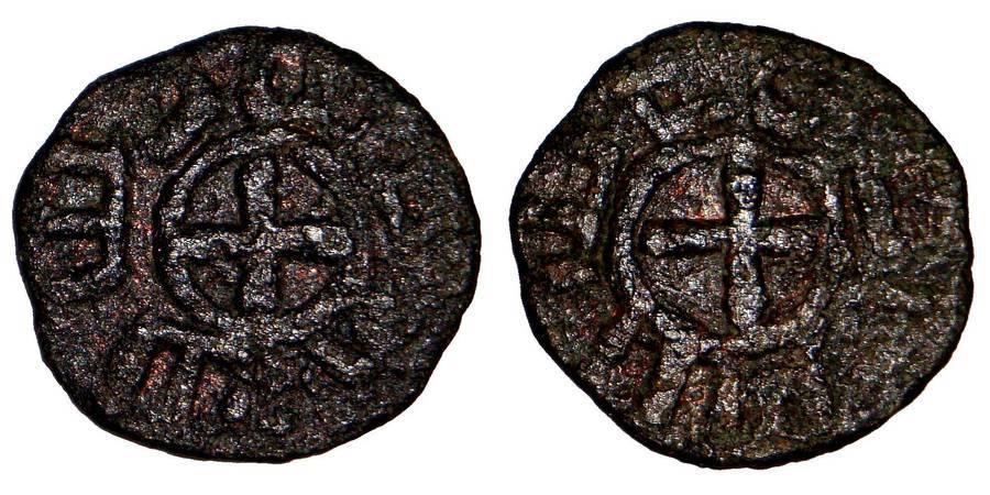 ARMENIA (BARONIAL)~AE Pough 1080-1095 AD