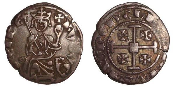 CYPRUS (KINGDOM)~AR Gros 1326-1359 AD