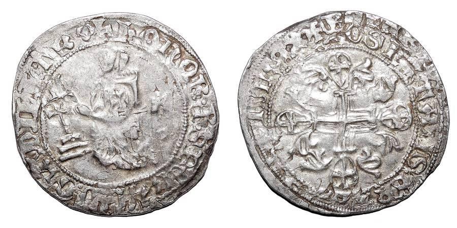 RHODES~AR Gigliato (Type 1) 1376-1396 AD
