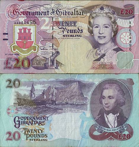 Gibraltar199520Pounds1