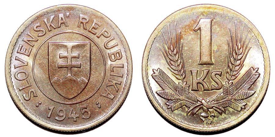 SLOVAKIA~1 Koruna 1945