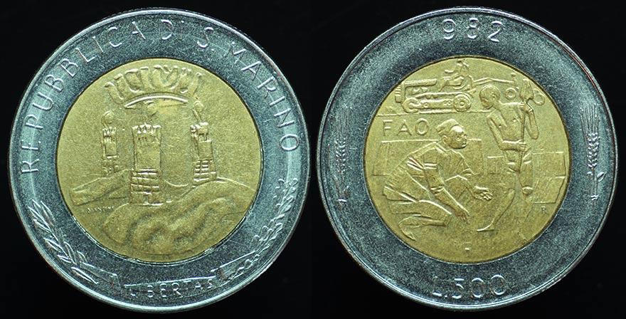 ItalySMarino500L1982